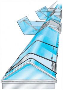 Toplicht - pásový světlík typ T